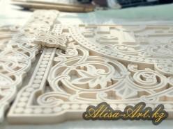 3D-изделия из МДФ с ручной росписью